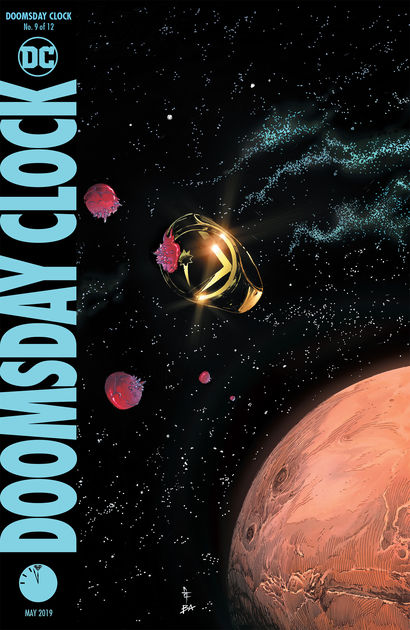 Mark, of course, picks Doomsday Clock.  Mindy just wants it over.