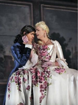 """La Finta Giardiniera,"" The Santa Fe Opera 2015, Costume Designer Jon Morrell, Draper Kjersten Lester-Moratzka, Photo taken by Ken Howard"