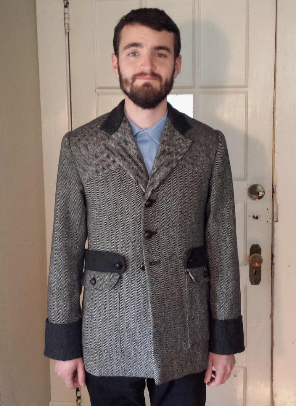 Edwardian Norfolk Jacket