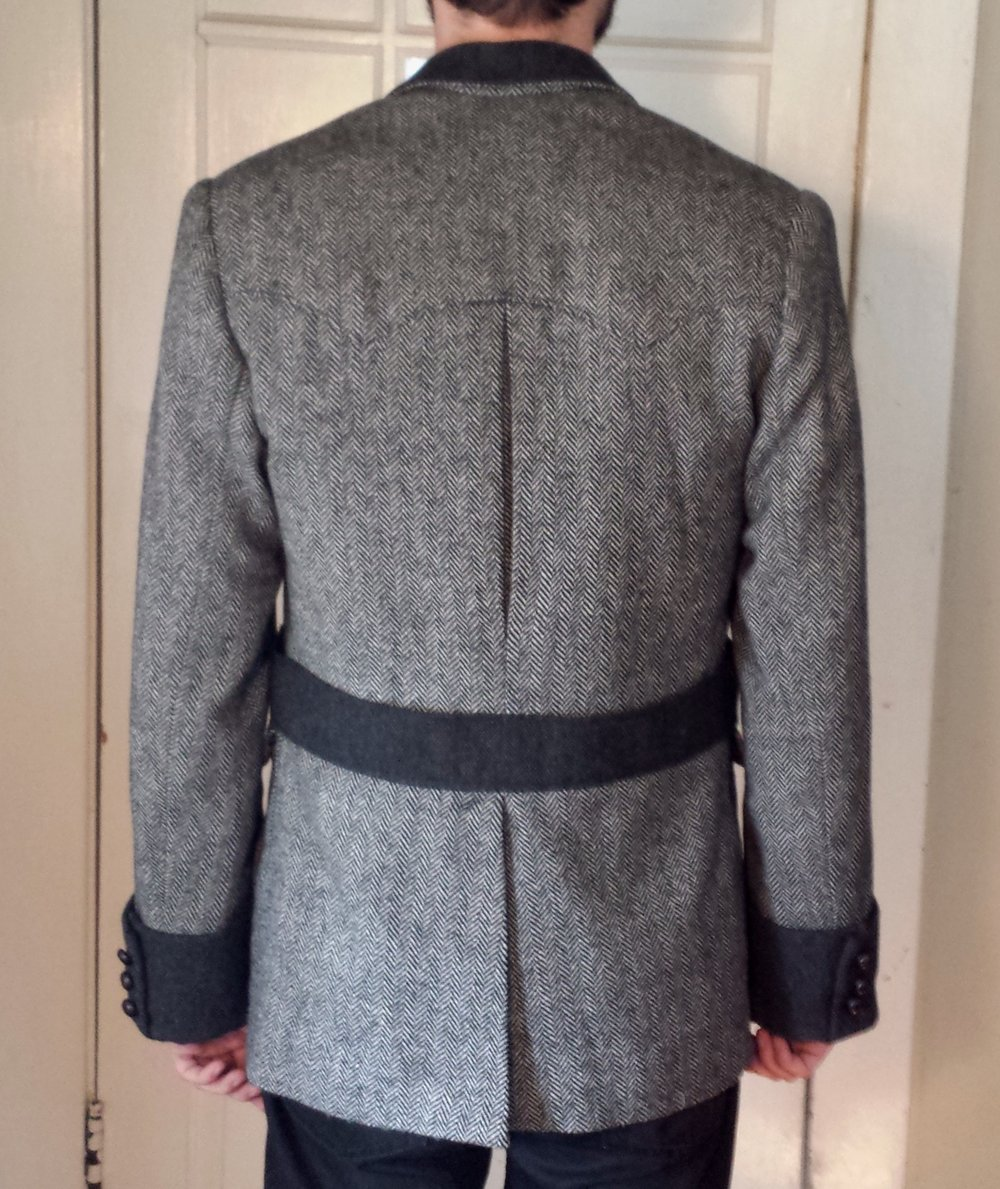 Norfolk Jacket Back view