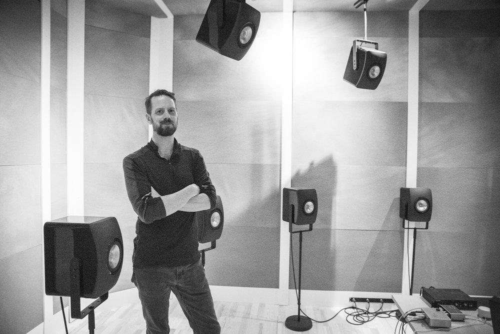 Notto J. W. Thelle @Ambisonics studio