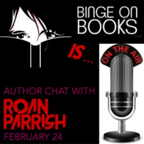 """Author Chat""  In which I talk books, genre, and romance with Judith from  Binge on Books ."