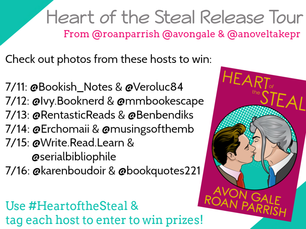 heart of the steal instagram tour