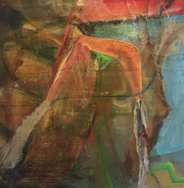 UDEN TITEL Nr. 2 130 x110 cm 14.000,- kr