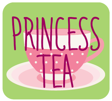 Princess Tea Party - Tea Sandwiches (Choose 2: Herbed Cream Cheese & Cucumber, Hummus & Veggie, Sunbutter & Jam, Apple & Cheddar)Fairy CupcakesMagic Wand Fruit KabobsStrawberry Lemonade (served in tea cups)Plus tiara-decorating while guests arrive