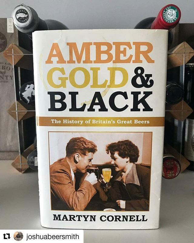 #Repost @joshuabeersmith (@get_repost) ・・・ Studying never stops! Can't wait to tuck into this. Said to be the best book on British beer history. . . An excellent book- highly recommended for studying beer history! . @cicerone @goose_edu @guild.beer.sommeliers #certifiedcicerone #cicerone #ciceronelife #ciceronestudy #beereducation #beersommelier @zythophiliac