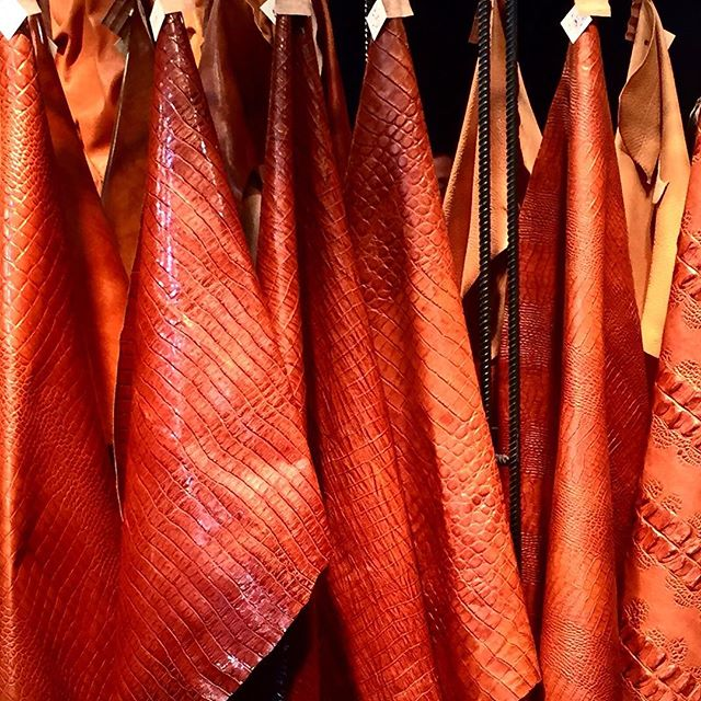 Tannery in Milan #lineapelle  #tan  #python #snakeskin #alligator #thedesignguy #7thandspring #interiordesign #photography #atl #mysuperfilteredlife #praylovehustle #portrait #leather