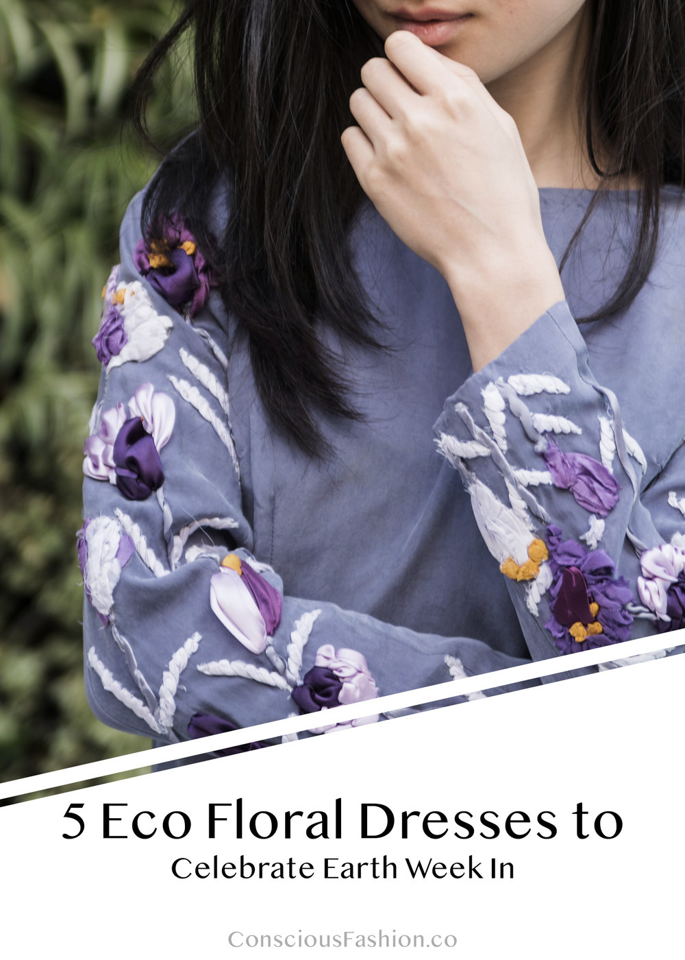 Eco Fashion Brands Floral Dresses by Conscious Fashion Collective