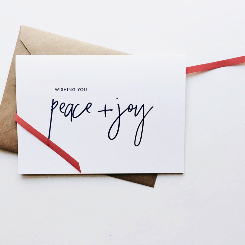 recycled paper holiday card | eco friendly gifts sustainable holiday gift ideas via conscious fashion collective