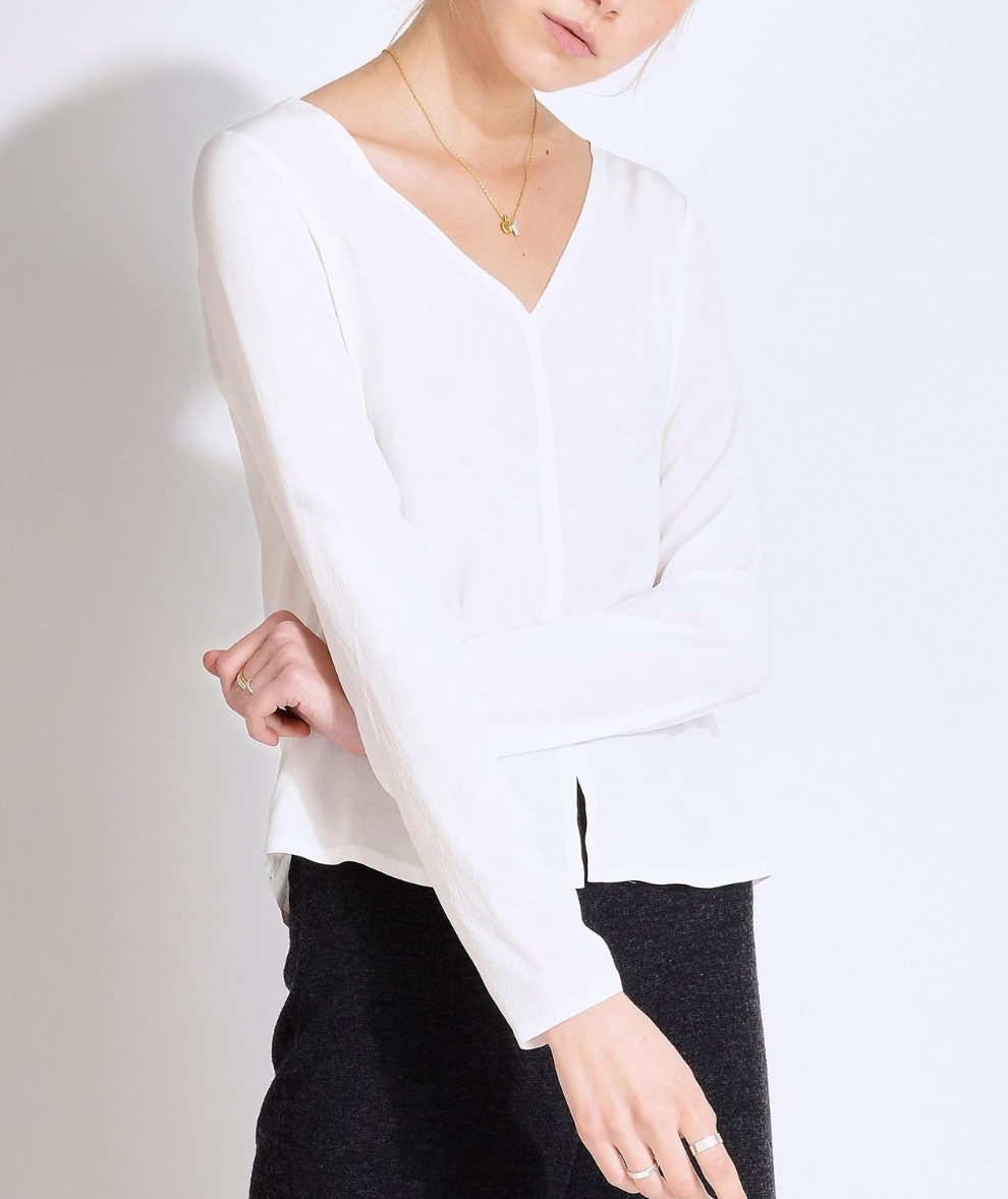 Sourcery Label   Eco-Friendly White Shirts for Women   Conscious Fashion Collective