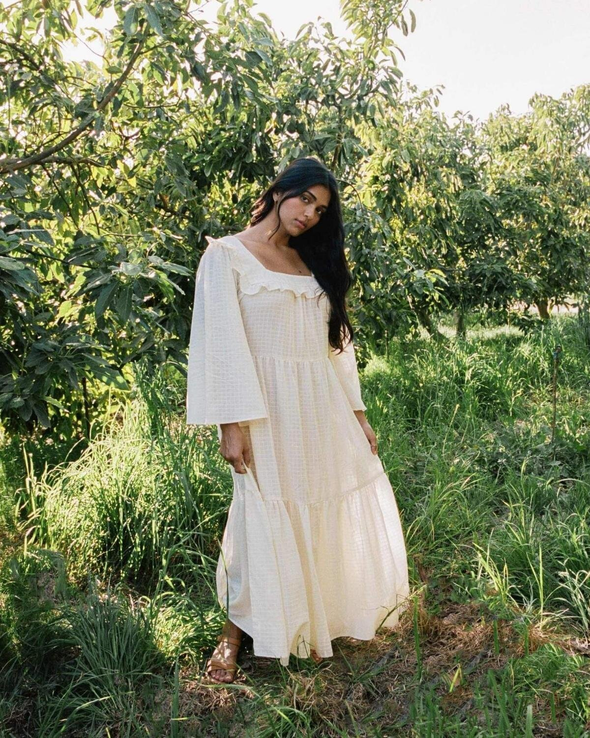 4f9b0e7b91b798 10 Eco-Friendly White Dresses And Jumpsuits To Frolic In This Summer |  Conscious Fashion Collective