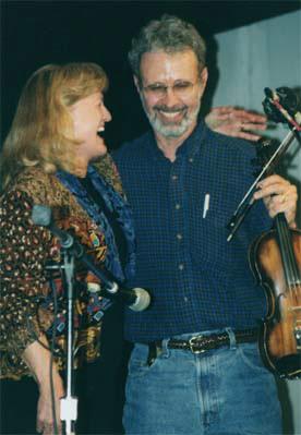 Ginny Hawker and Tracy Schwarz