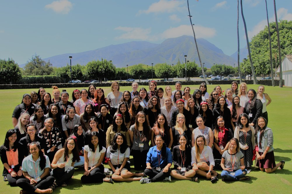 2017 FALL MAUI GIRLS' SUMMIT, Maui Arts and Cultural Center  The young women of Maui High School, Lahainaluna High School, Baldwin High School, King Kekaulike High School, St. Anthony High School enjoy the first annual Maui Girls' Summit.