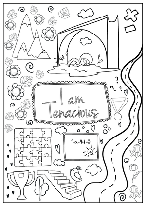 Coloring Book — Hopscotch Girls