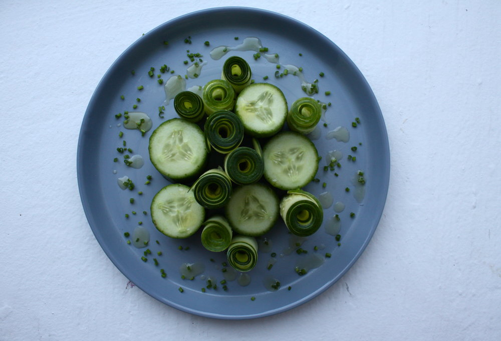 Louise Bourgeois's French Cucumber Salad