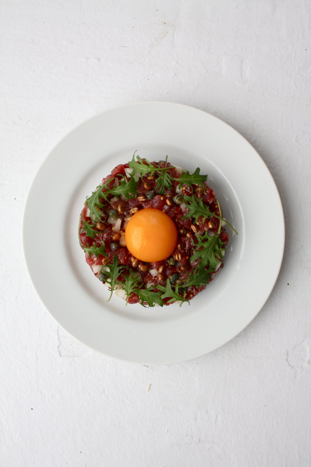 Marcel Duchamp's Steak Tartare