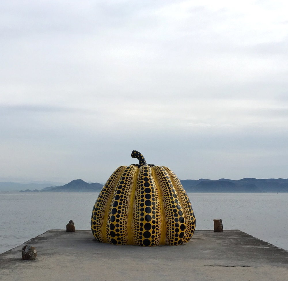 Pumpkin at Naoshima