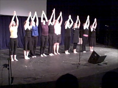 Movement Choir, National Wellness Conference, WI