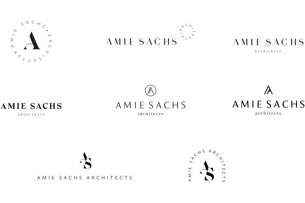 Proposed Logos for Amie Sachs Architects