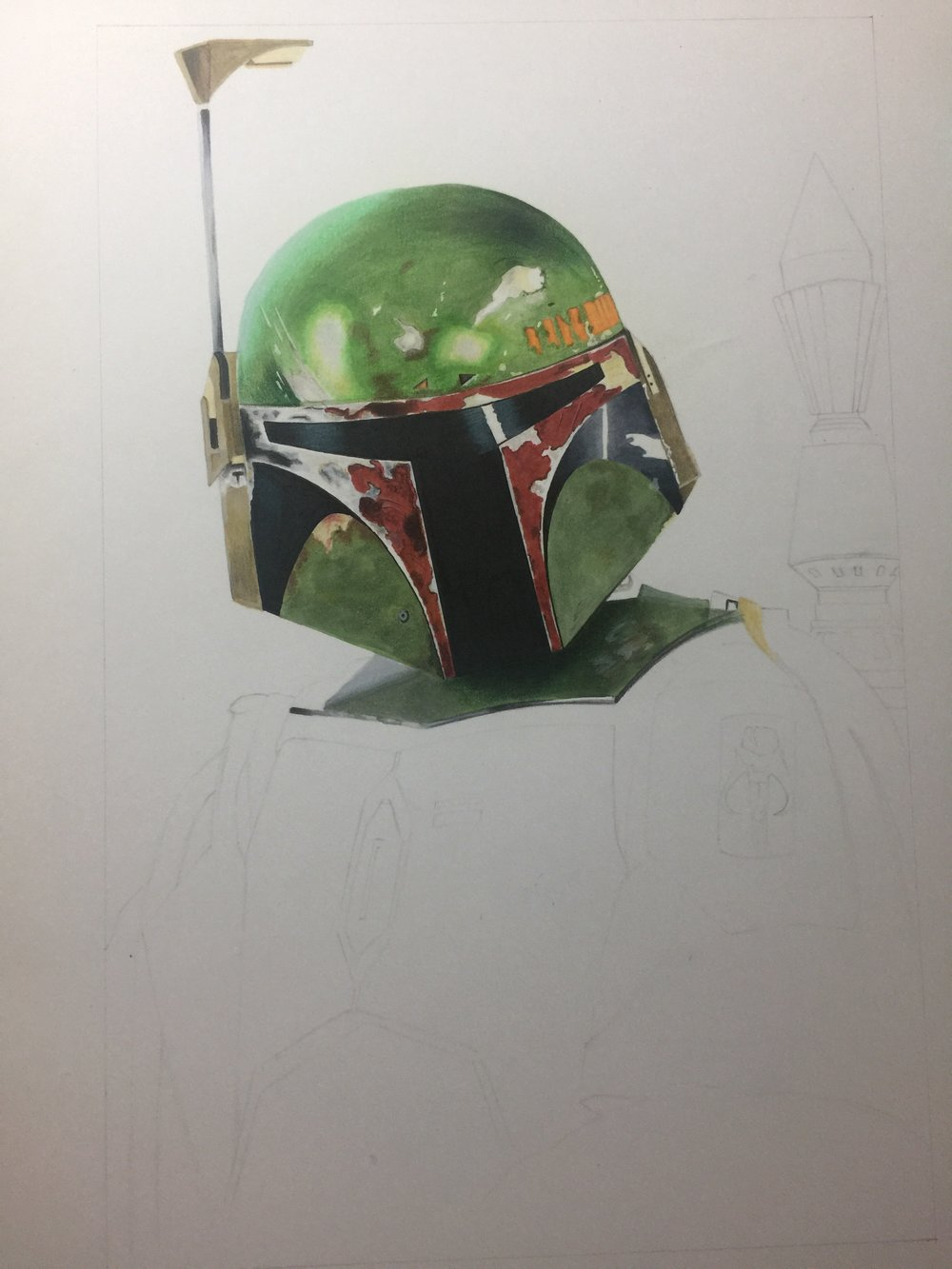 Boba Fett WIP Two