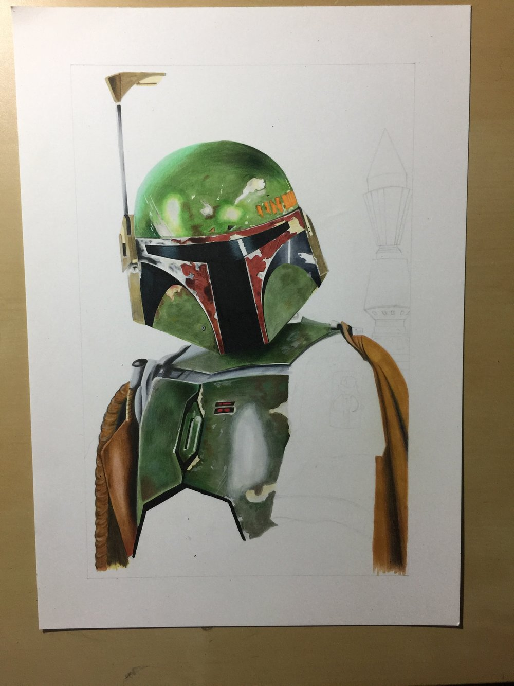 Boba Fett WIP Three