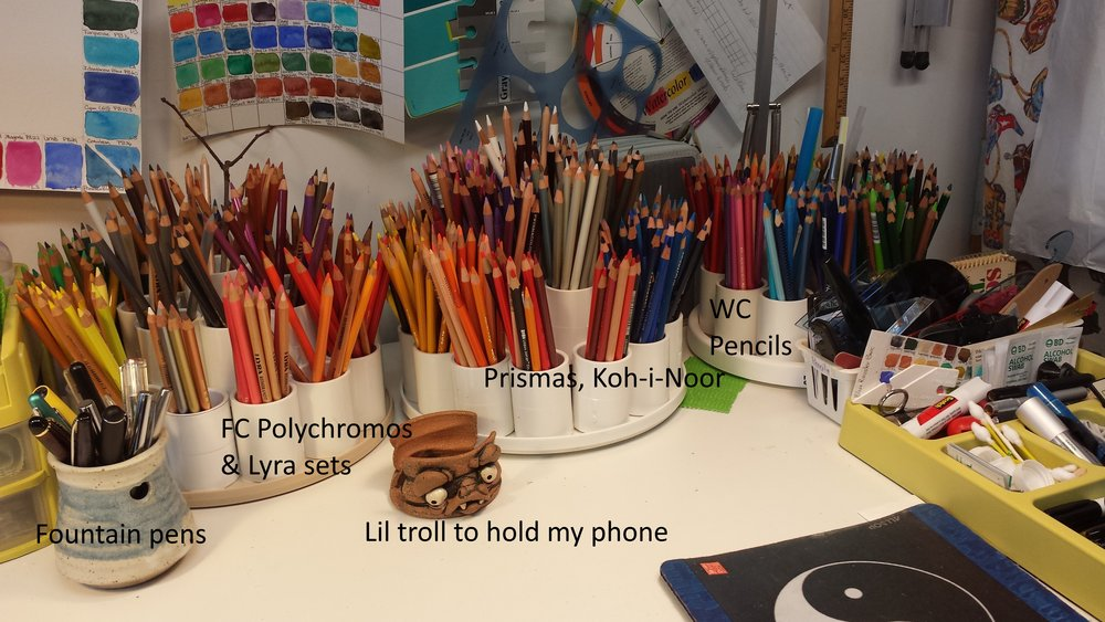 Ali C Pencil Setup