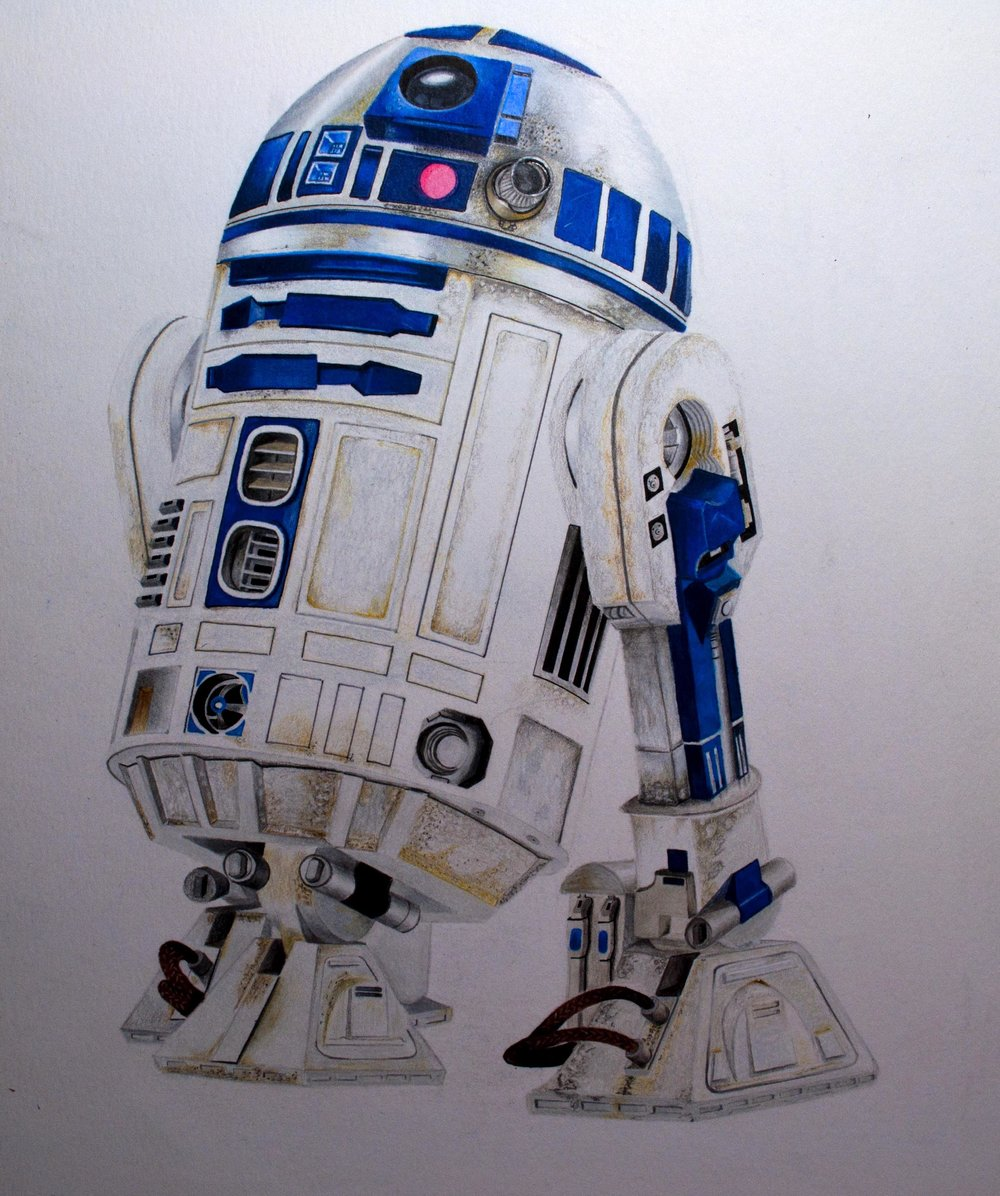 R2-D2 Final Image and Touchups
