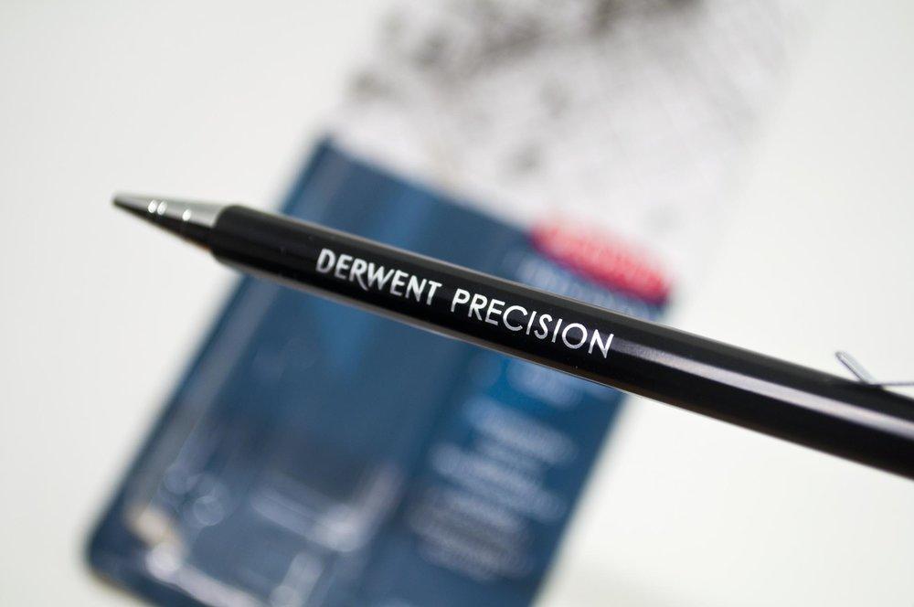 Pencil Barrel With Derwent Precision Printed