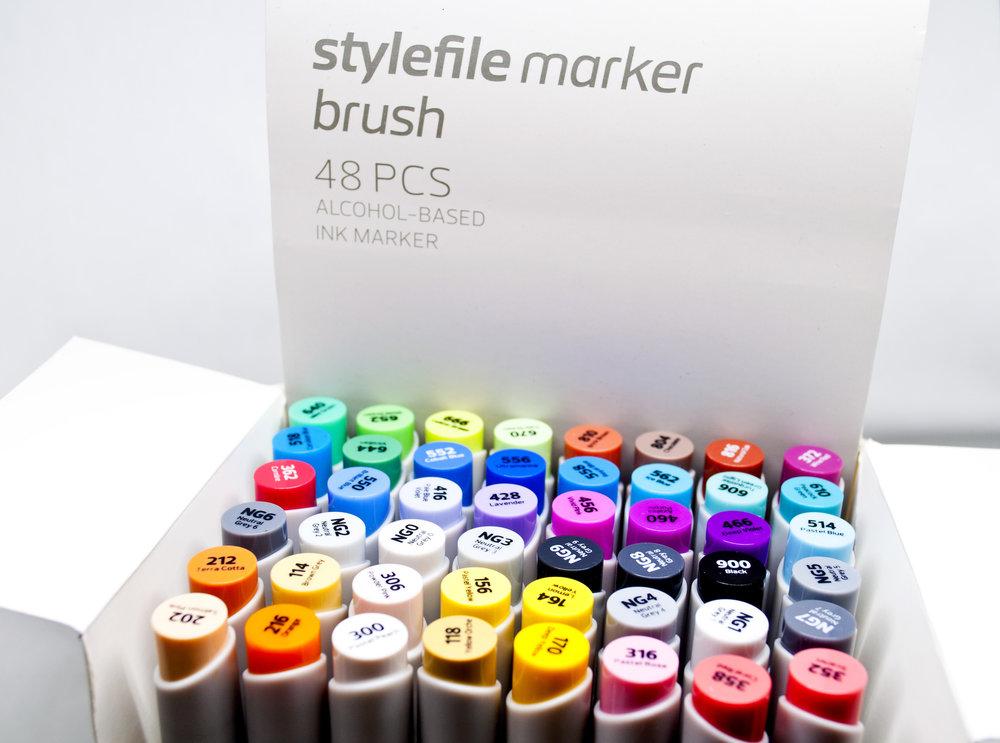 Stylefile Brush Marker