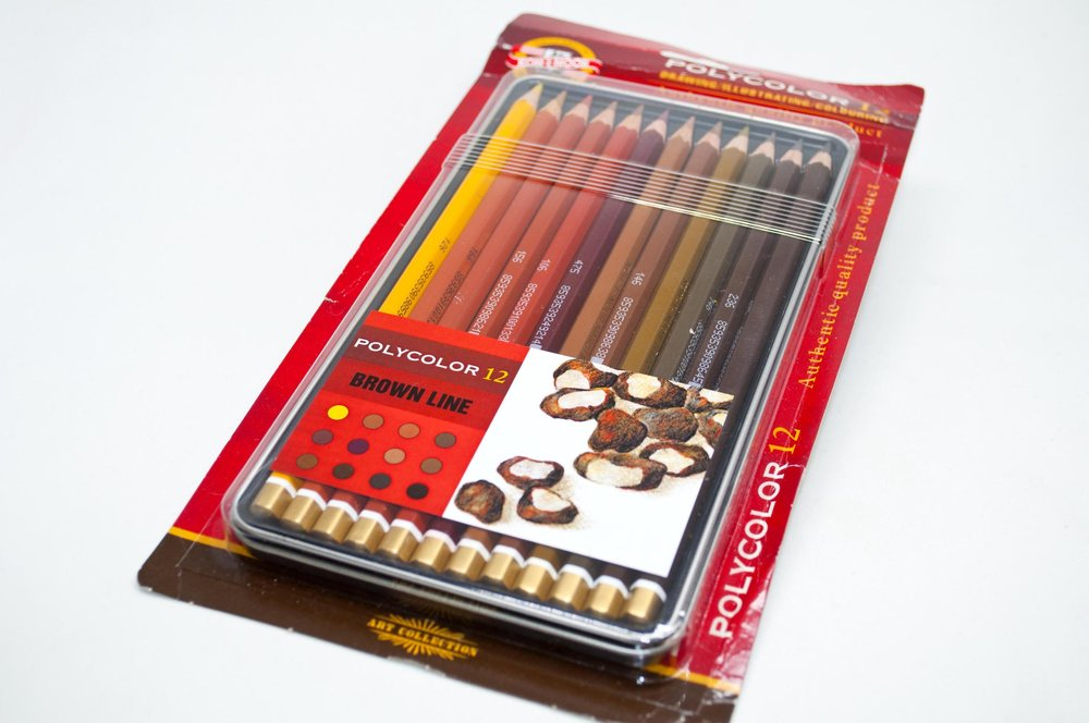 Koh-I-Noor Polycolor Brown Set.jpg