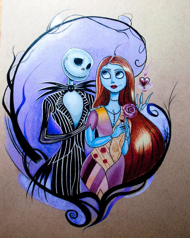 I drew this Tim Burton Corpse Bride as it is Halloween, trying to get into the mood. My daughter is a huge Tim Burton Fan and she gave me the idea. I know the actual reference image is not actually the Corpse Bride but the Christmas one, but I just name the piece this due to the holiday being Halloween. For this drawing I used my @prismacolor Premier Colored Pencils and only them on @strathmoreart Toned Tan paper. You just can't beat @strathmoreart paper for variety and quality. Hope you enjoy it and if you like I have a speed drawing of this on my YouTube channel which you can get the link for in my profile. #TimBurton #CorpseBride #TheCorpseBride #strathmorepaper #Prismacolor #halloween #halloweenart #coloredpencilart