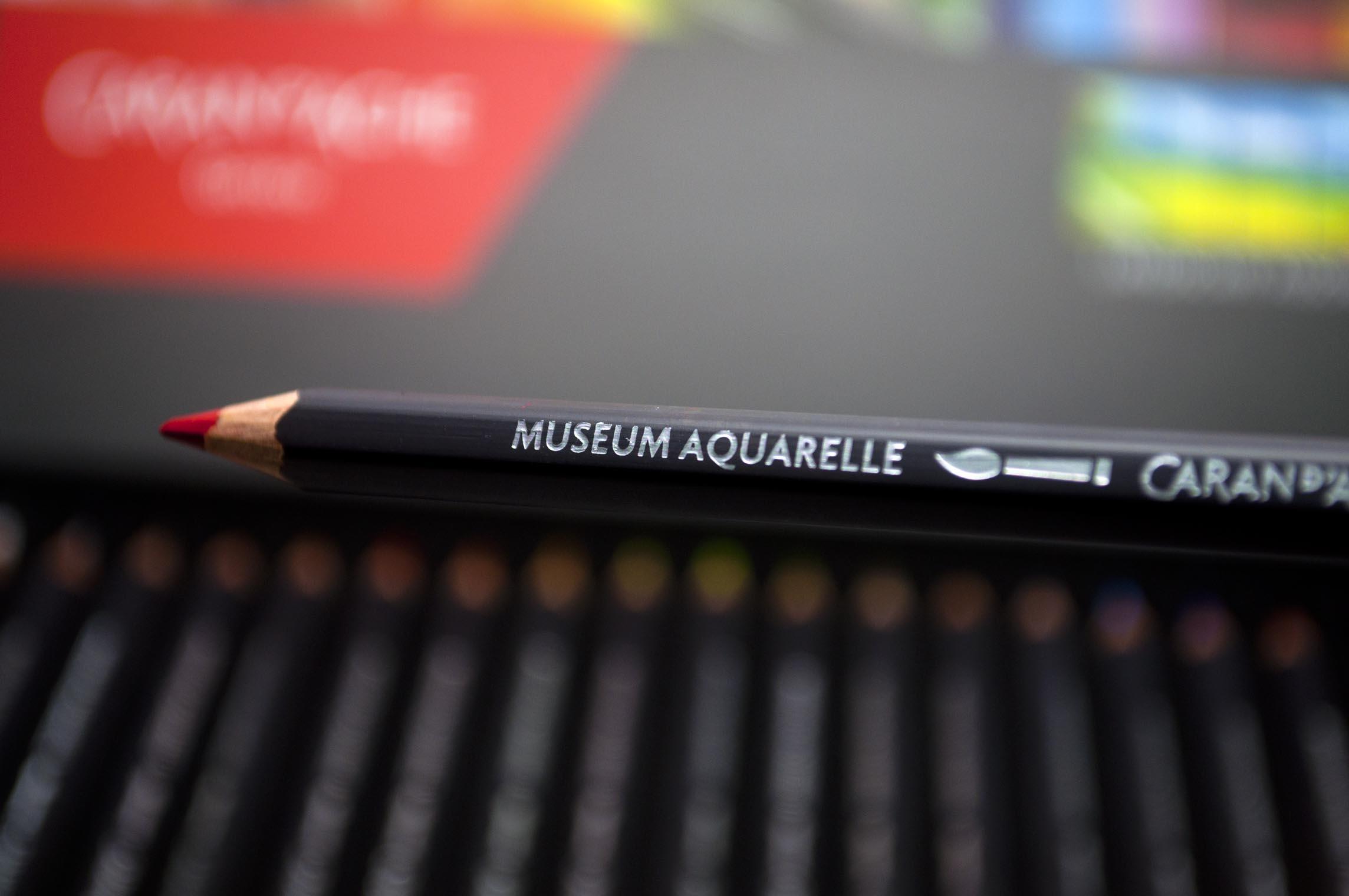 Caran d/'Ache Supracolor Soft Watersoluble Pencil Black