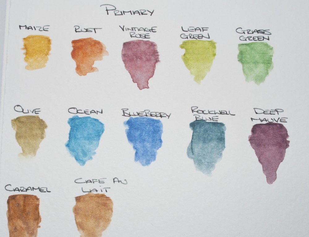 Primary Colors From the ColourTint Collection