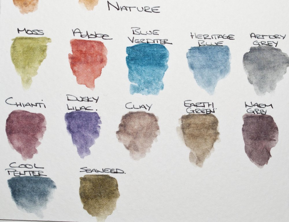 Nature Colors From The ColourTint Range