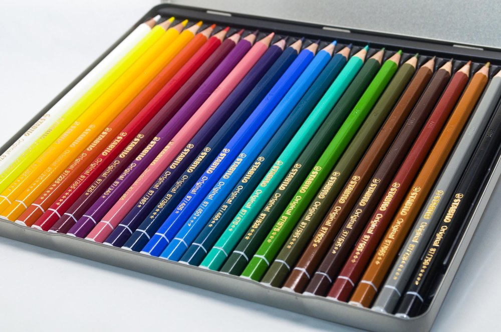 Stabilo Pencils In Tin .jpg