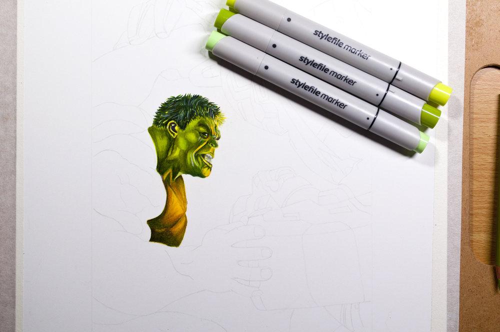 Hulk 1 With Markers.jpg