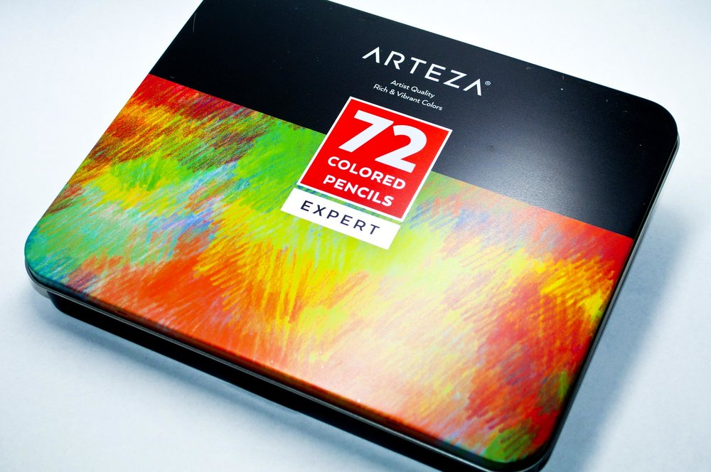Arteza Expert Colored Pencils — The Art Gear Guide