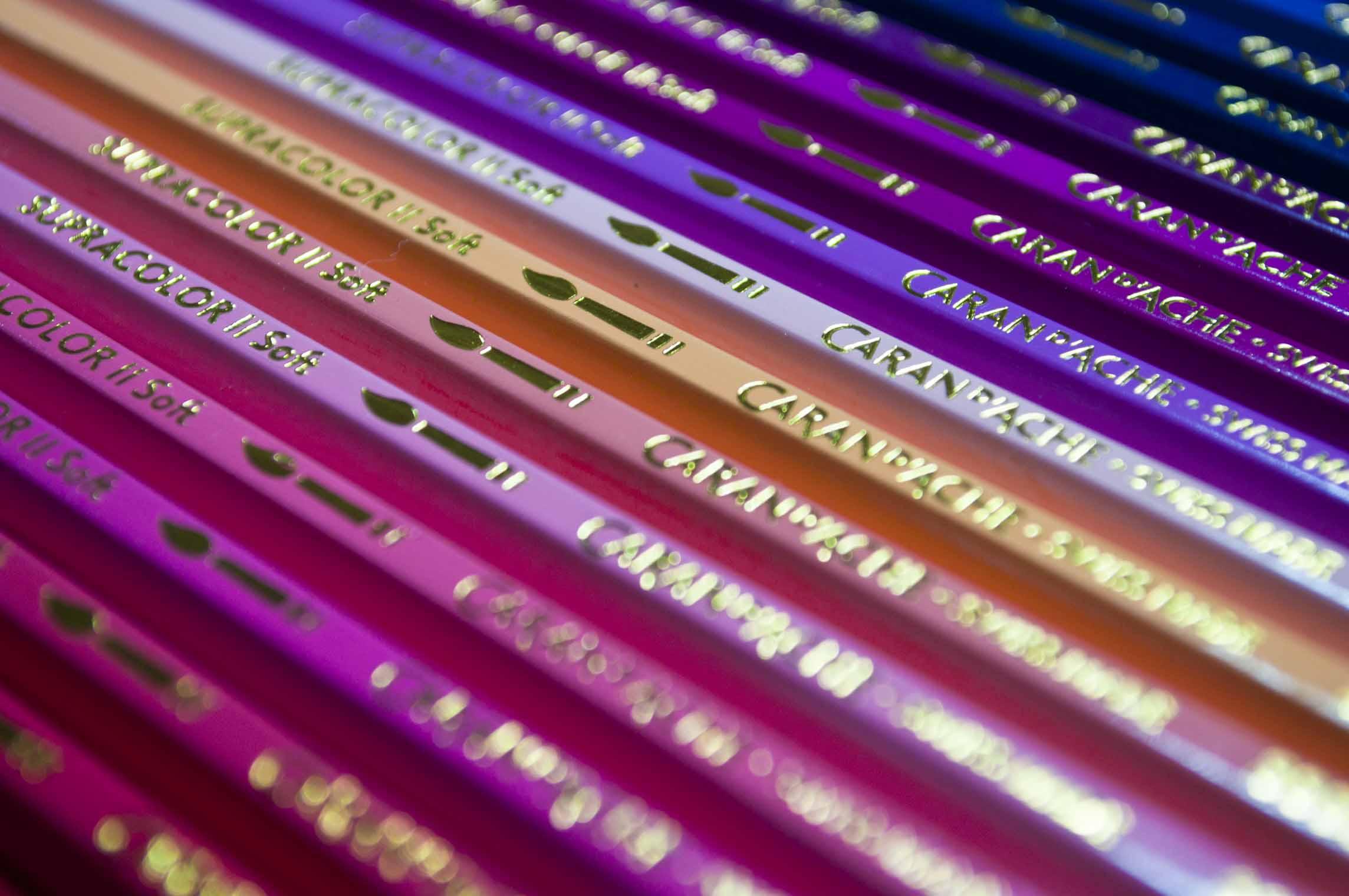 Caran d/'Ache Supracolor Soft Watersoluble Pencil Mauve