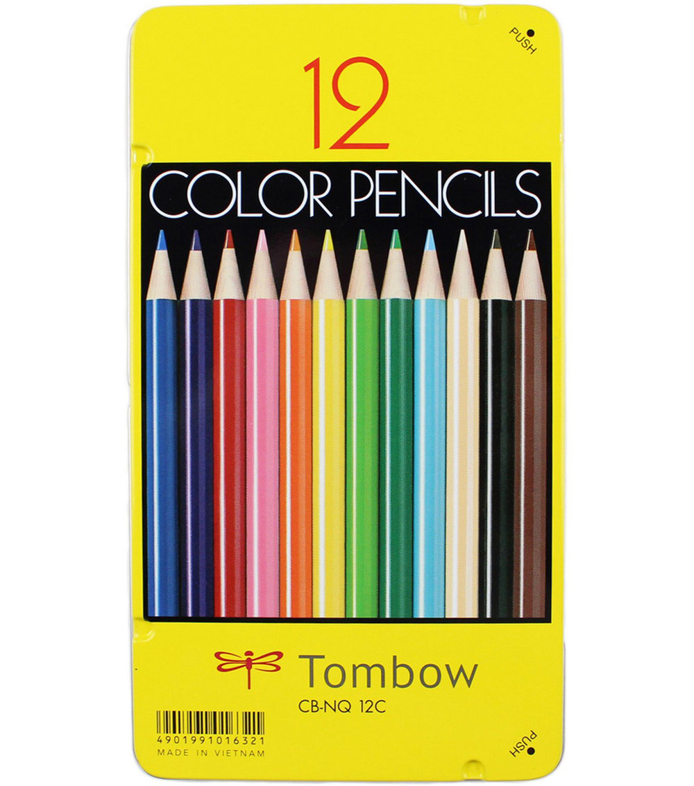 Amazon Link to TomBow 1500 Colored Pencils 12 Set