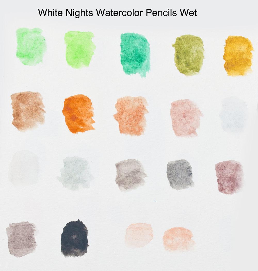 White Nights Watercolor Pencils Wet 2.jpg