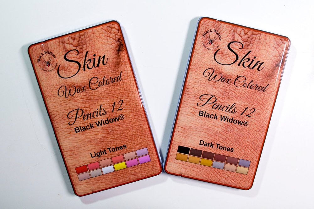 Black Widow Skin Tone Colored Pencil Review — The Art Gear Guide