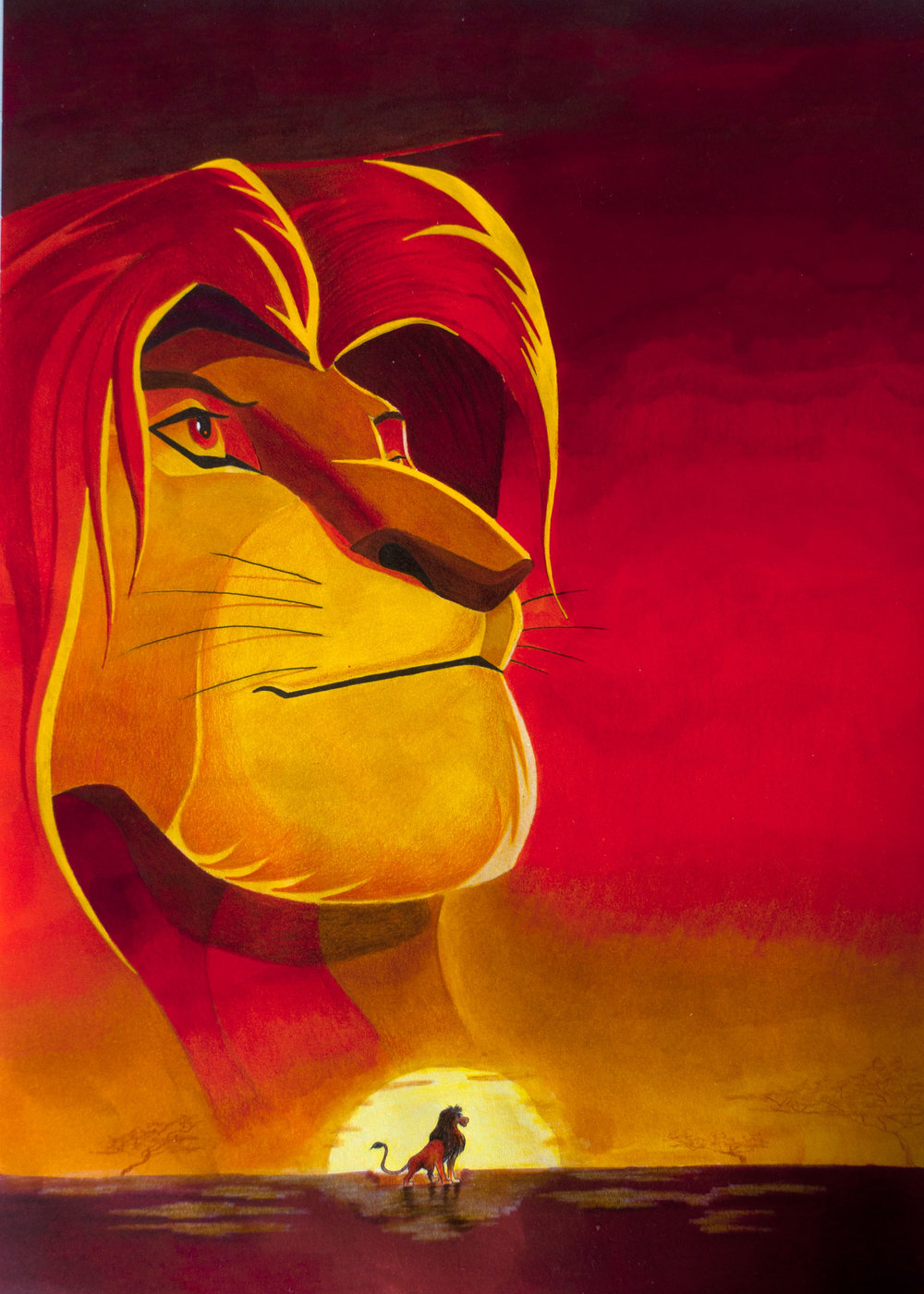 Disneys The Lion King With Arteza Everblend Markers The