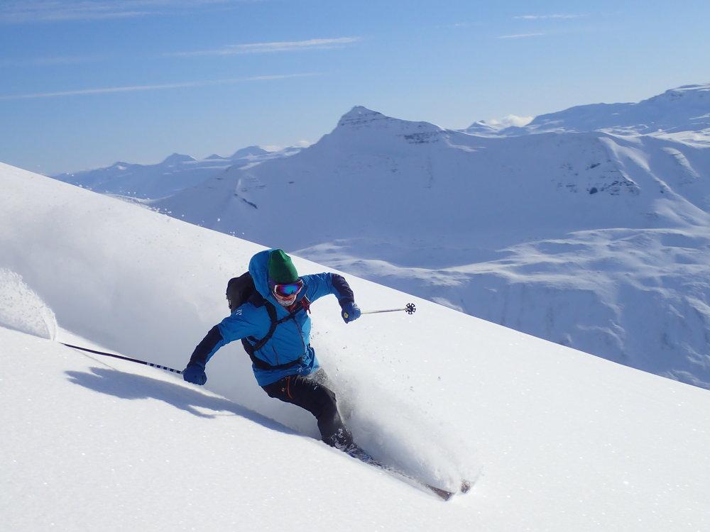 skiing content creator, outdoors ambassador