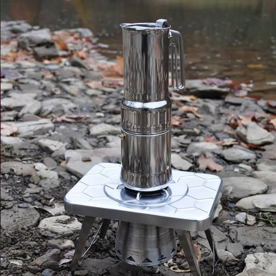 nCamp - coffee & stove set