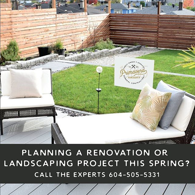 Call the experts with over 32 years experience! Space is limited so book your project early! General contracting, Perimeter Drainage & Excavation, Roofing Division, Laneway Homes, Renovations & Additions, Landscaping and Strata Maintenance. Whatever your project, we can help turn your dreams into a reality!