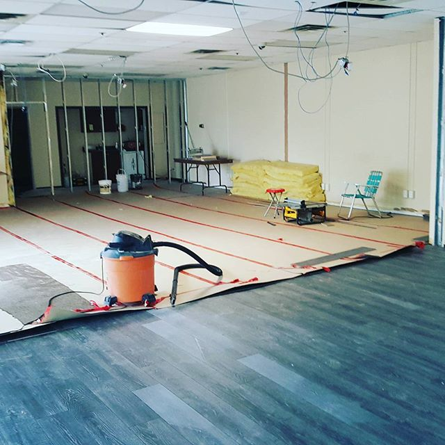 Our commercial retail renovation project is underway!!😃 #greatclients #workhasstarted