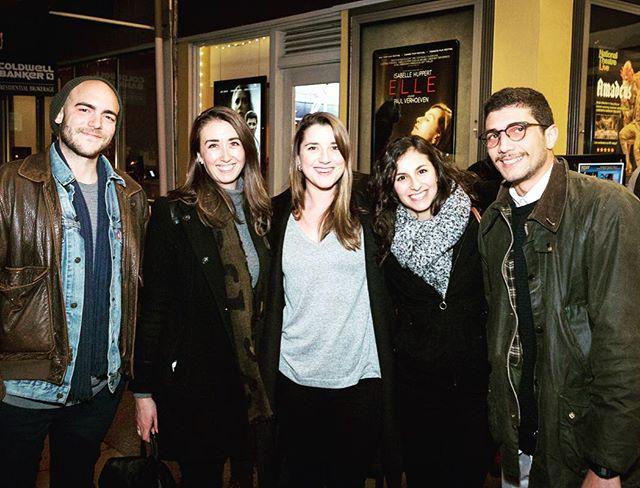 Cast & Crew screening with Chloe Goshay & Ahmed Badenjki #notalonedoc