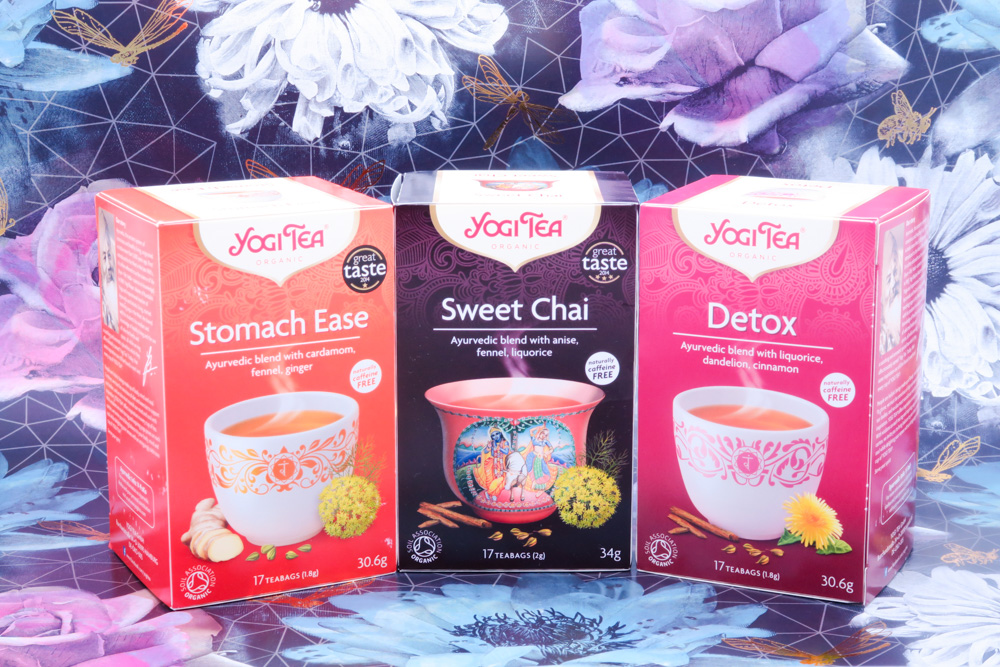 Yogi was my favourite tea brand before I even liked yoga. What a coincidence!