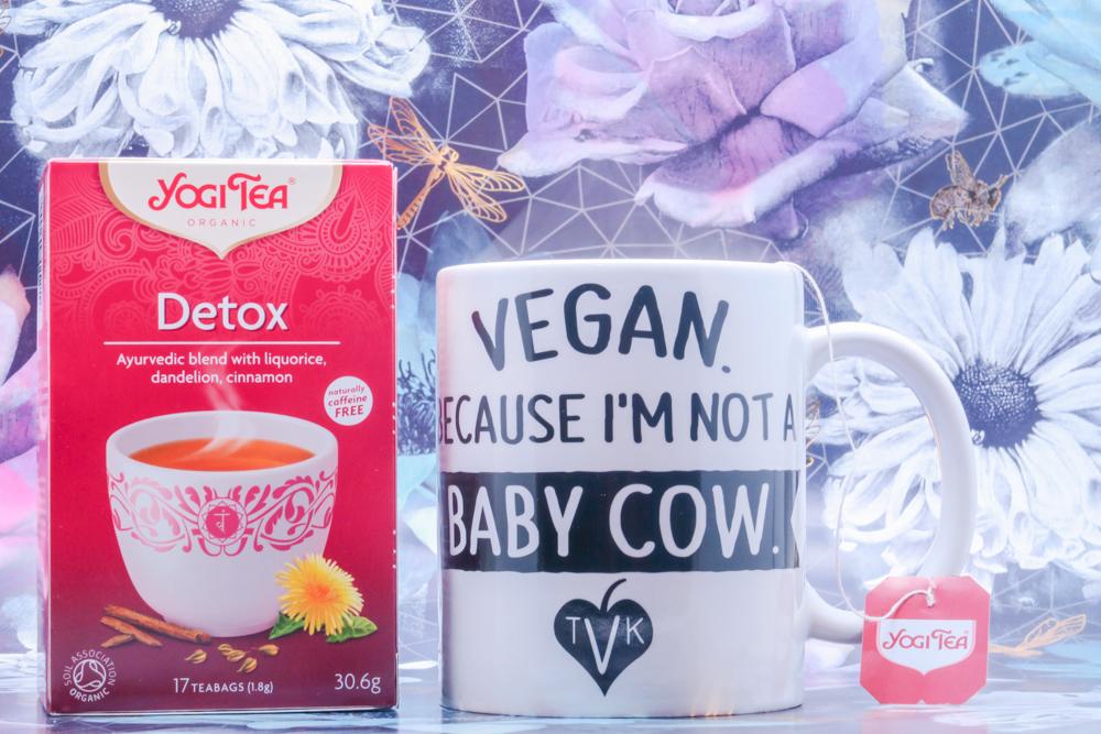 Mug compliments of The Vegan Kind. They give good.