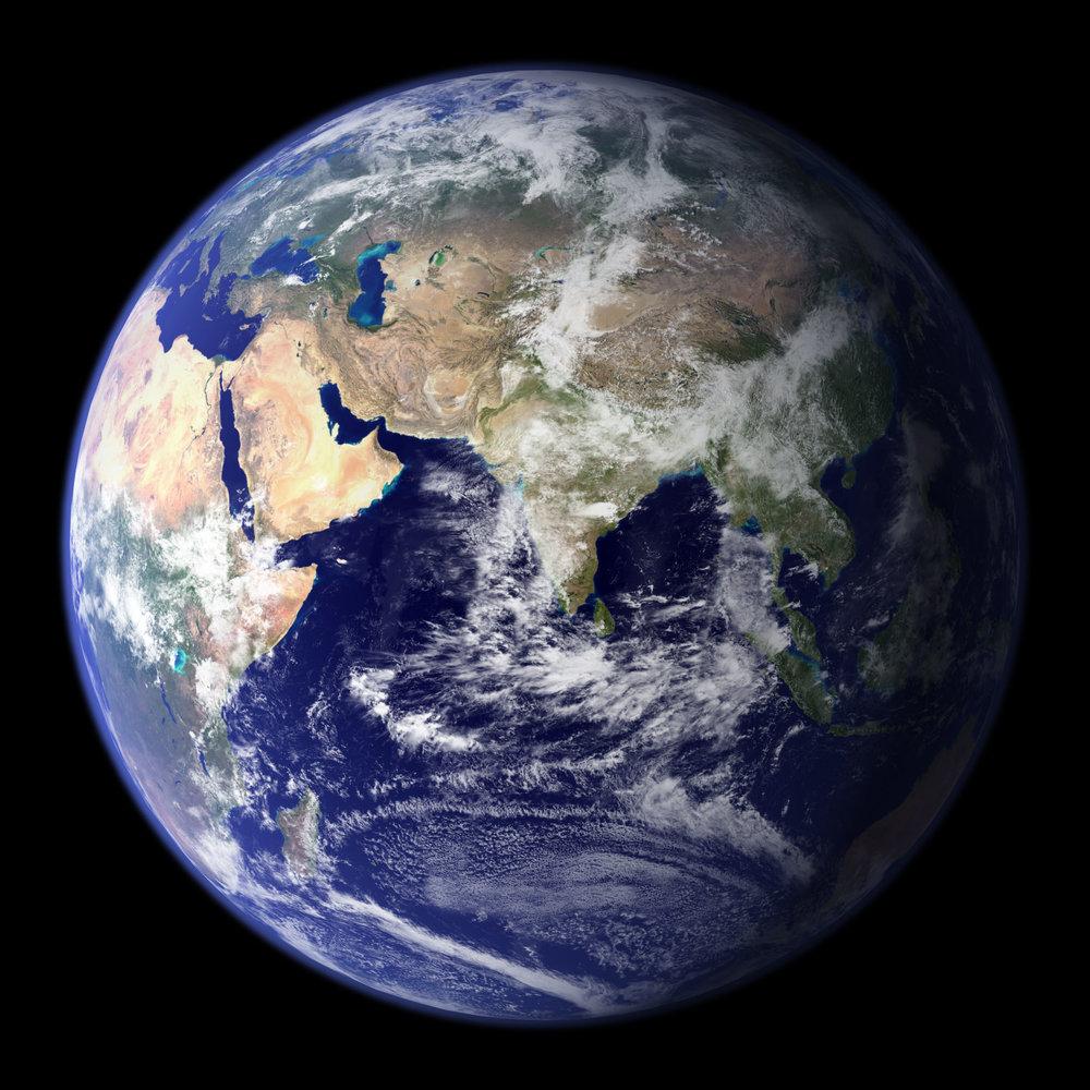 Hello Planet Earth -  © Nasa